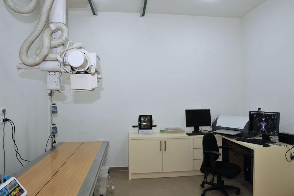 חדר הדמייה - בית החולים לחיות הבר